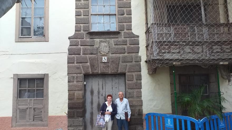 La casa Quintana en el municipio grancanario de Guía.