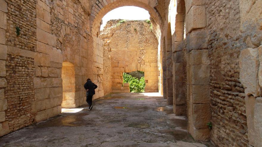 Casa subterránea en Bulla Regia, una rareza en el mundo romano. Verity Cridland