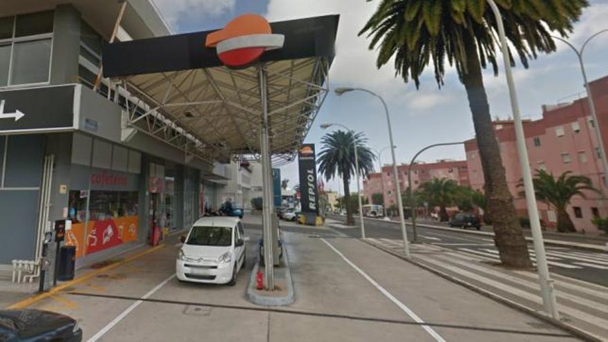 Gasolinera en la Avenida Escaleritas