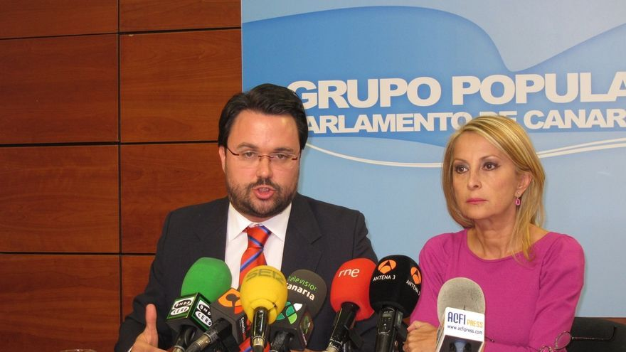"""Antona (PP) prevé que la """"hostilidad"""" contra las prospecciones desaparecerá si Rivero no es candidato de CC"""