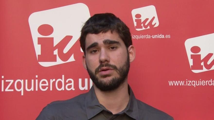 José Morales, candidato de Ganemos Guadalajara. Foto: IU