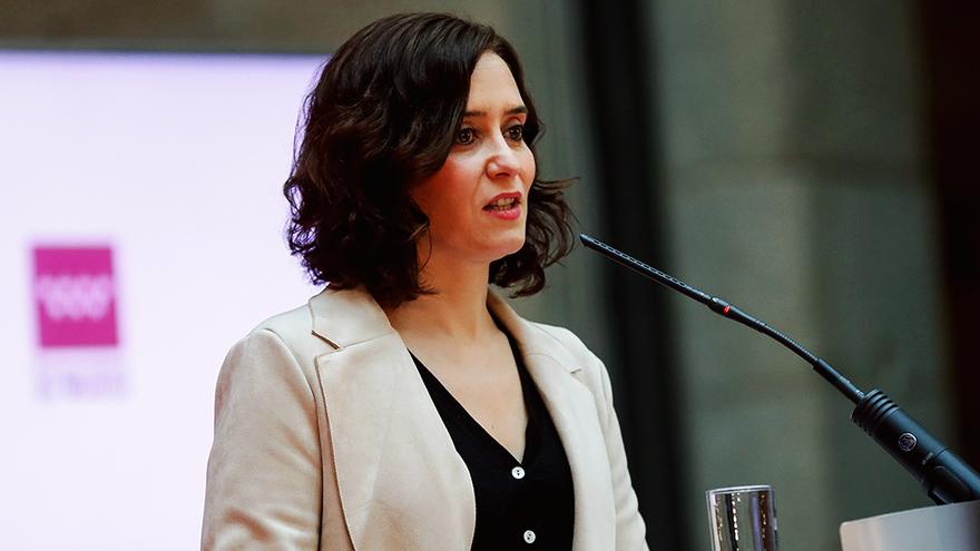 Isabel Díaz Ayuso, en una imagen de enero