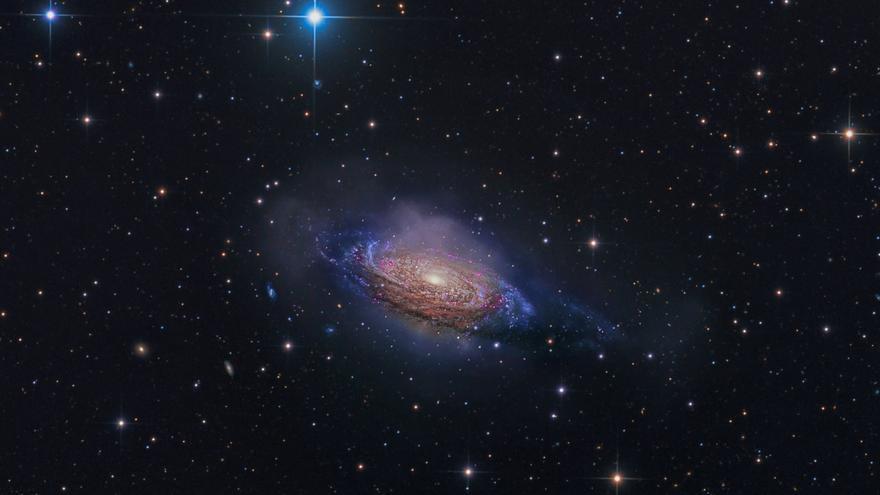 'Galaxia misteriosa', ganadora de la categoría Galaxias