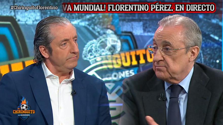 'El Chiringuito' (7.8%) gana expectación y firma máximo anual con la 'exclusiva mundial' de Florentino Pérez