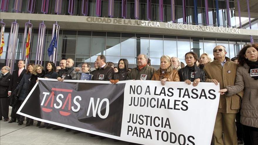 Profesionales de justicia piden la retirada de las tasas judiciales
