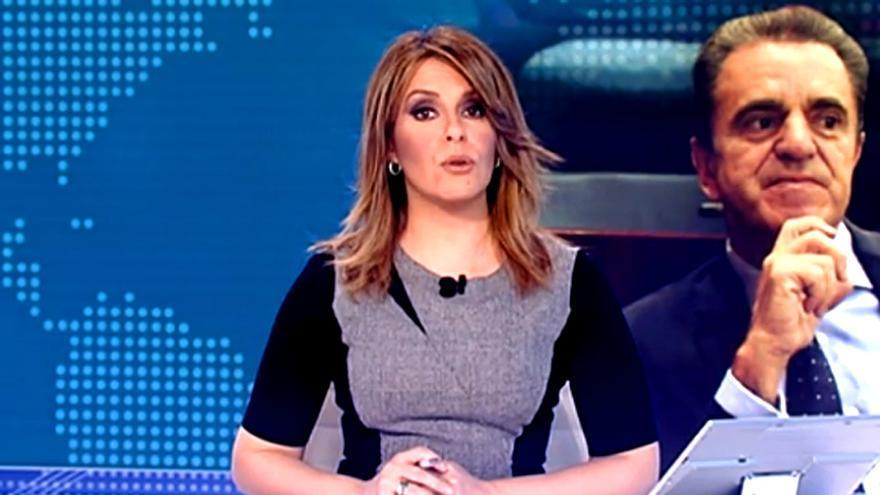 Pilar García Muñiz, en el Telediario 1