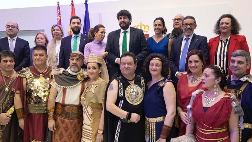"""López Miras: """"La candidatura de Cartagena a Patrimonio de la Humanidad permitirá convertir nuestro legado en una oportunidad de futuro"""""""