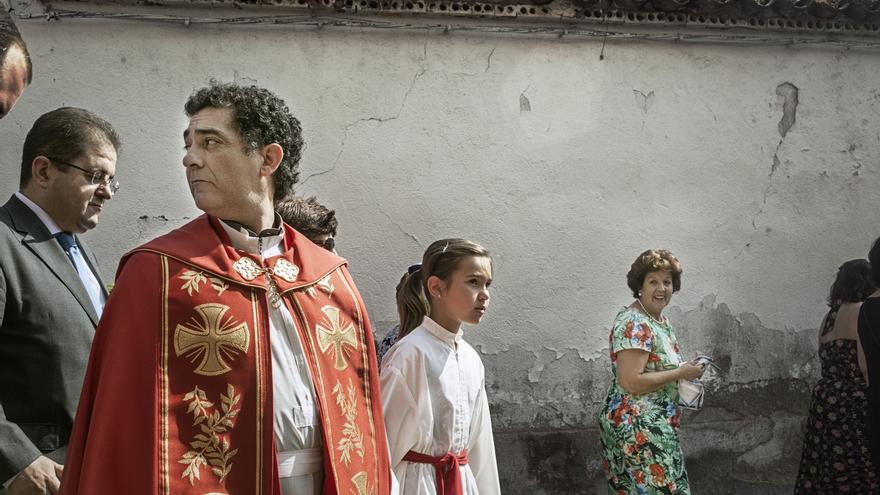 Festejo 'Correr los gansos' en El Carpio del Tajo (Toledo). Foto: © Kike Carbajal