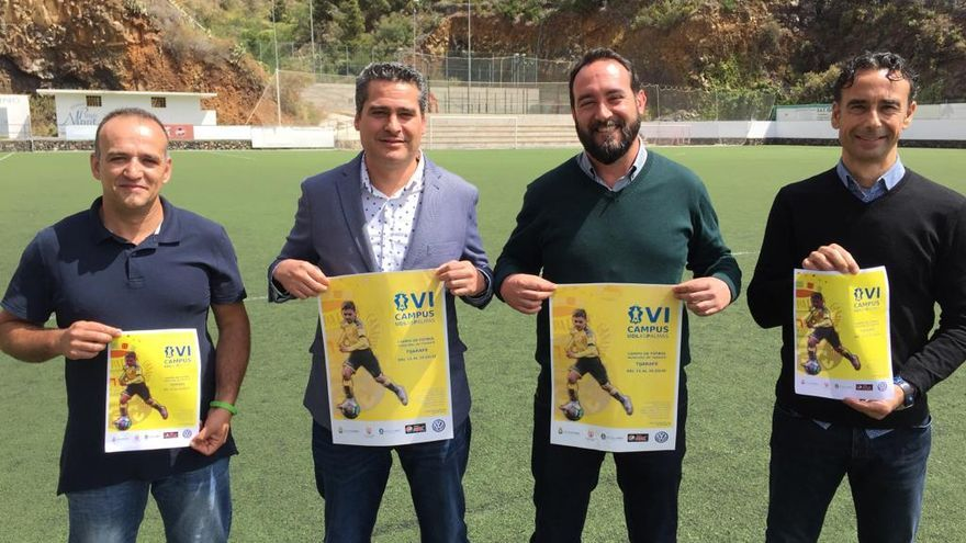 Presentación del VI Campus Deportivo de UD Las Palmas.