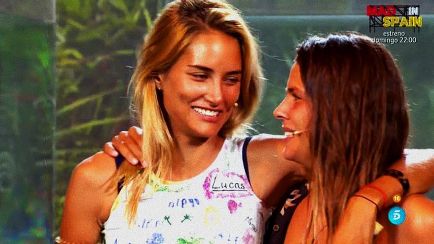 Alba Carrillo y Laura Matamoros