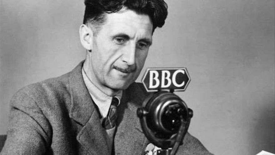 George Orwell en la radio