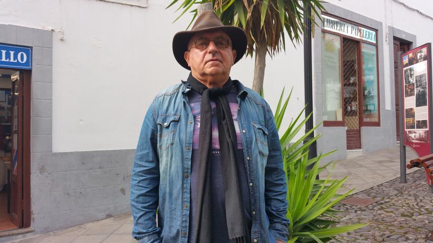 """Ramón Araújo cree que en La Palma """"seguimos escapando"""". Foto: LUZ RODRÍGUEZ."""