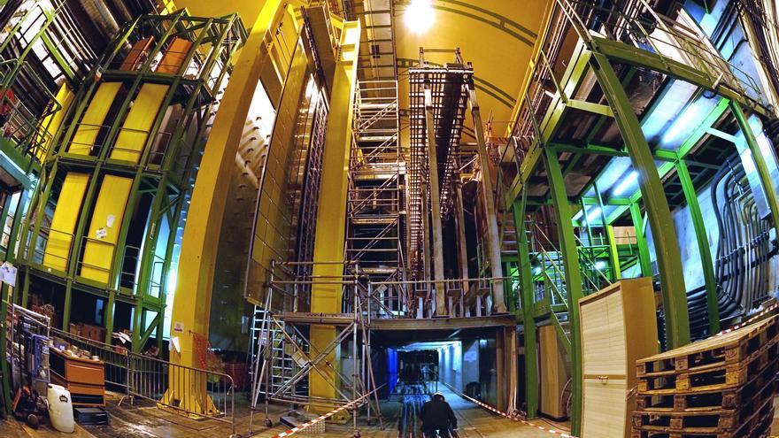 Detector LHCb en el CERN de Ginebra   Foto CERN