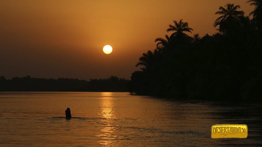 Janjanbureh, Gambia.