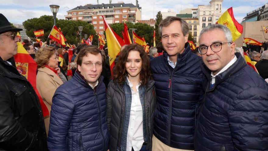 Dirigentes del PP en Colón