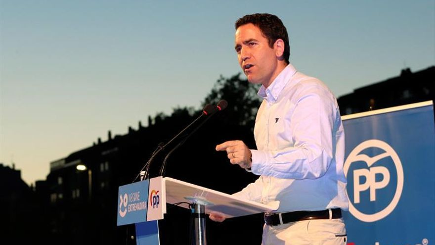 """García Egea critica a quienes buscan copiar al PP, """"un partido insustituible"""""""