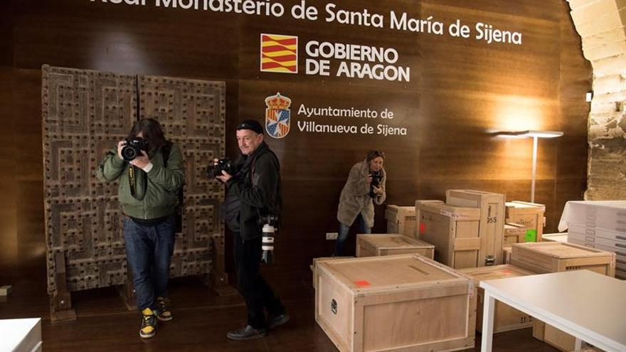 El Museo de Lleida localiza la pintura de Sijena que había extraviado