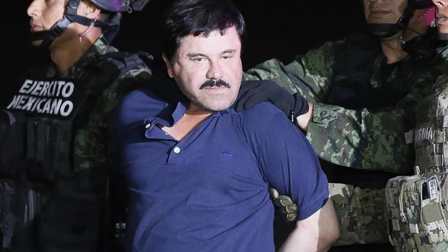 """Trasladan a Joaquín """"el Chapo"""" Guzmán de regreso al penal del que se fugó"""