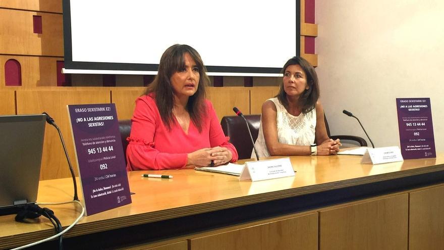 Vitoria asegurará durante La Blanca la atención 24 horas a víctimas de agresiones machistas con personal especializado
