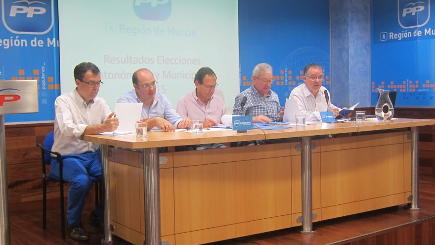 El PP de la Región de Murcia ha decidido crear un Comité de Pactos