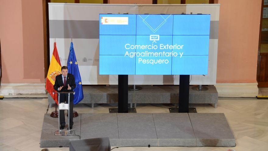 """Planas avanza que 2021 será un """"buen año"""" para las exportaciones agroalimentarias españolas"""