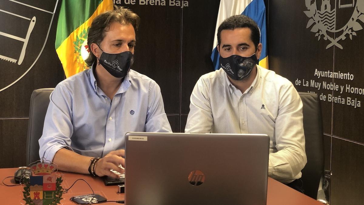 Fran Martín y Borja Pérez.