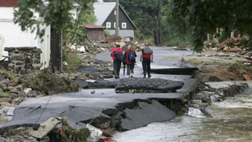 Inundaciones en la República Checa