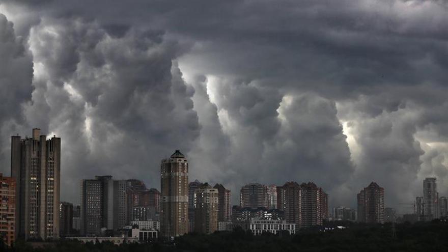 El temporal en Moscú deja dos muertos y al menos dieciséis heridos