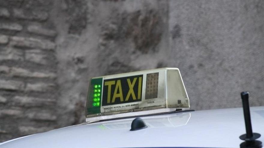 Imagen de archivo de un taxi.