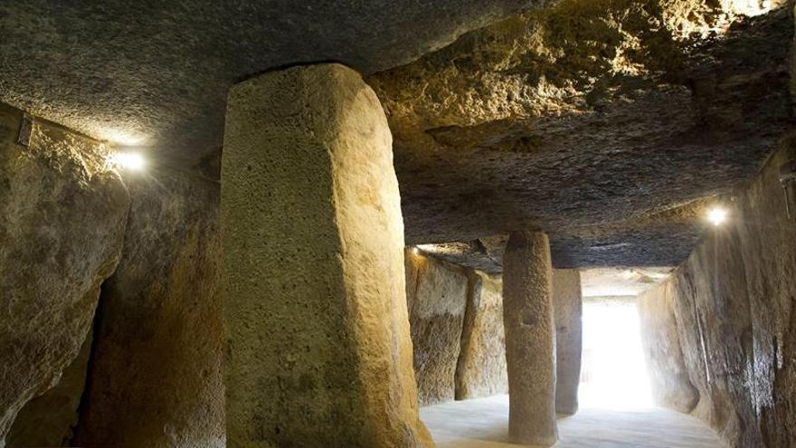 Los dólmenes de Antequera, inscritos como Patrimonio de la Humanidad