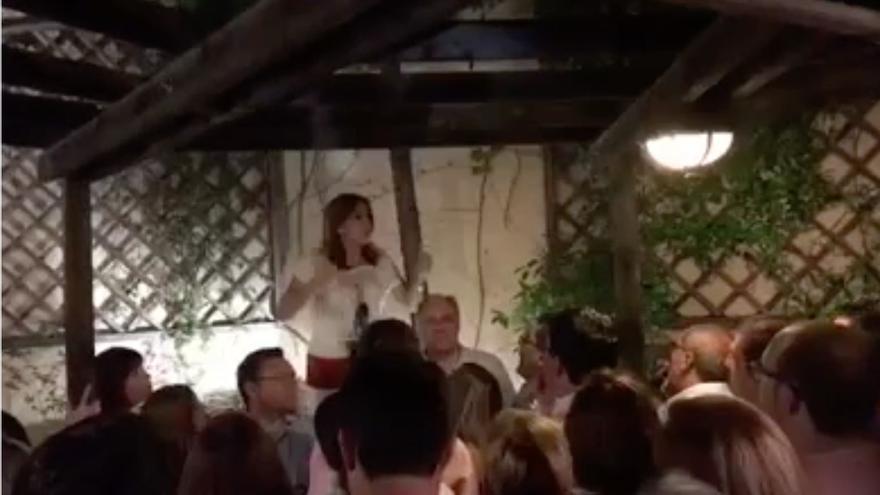 Discurso de Susana Díaz ante los suyos durante el congreso del PSOE.