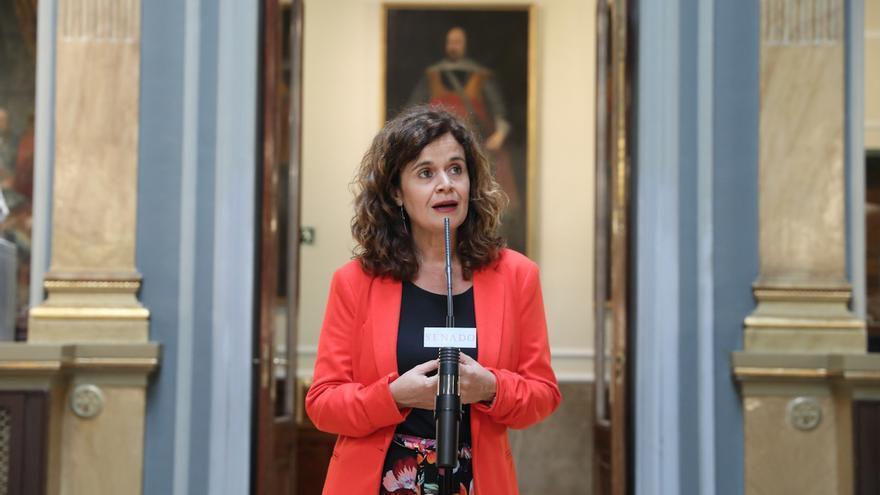La senadora de Adelante Andalucía Esperanza Gómez en una imagen de archivo.