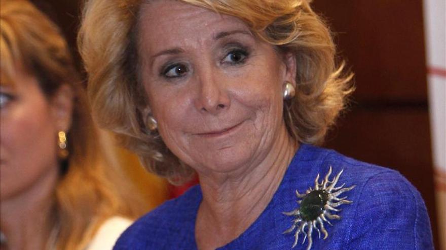 Aguirre culpa del alto fracaso escolar a todas las leyes educativas del PSOE