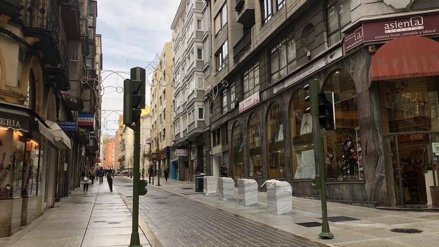 Abre a peatones la calle Cervantes tras siete meses de obras y una inversión de 1,3 millones