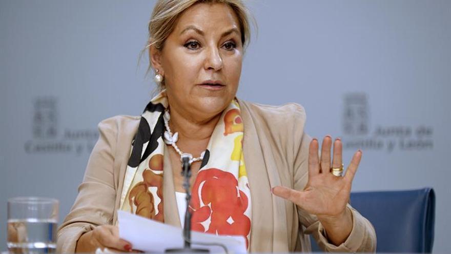 La vicepresidenta de CyL admite el error y no decidirá su futuro hasta hablar con Herrera