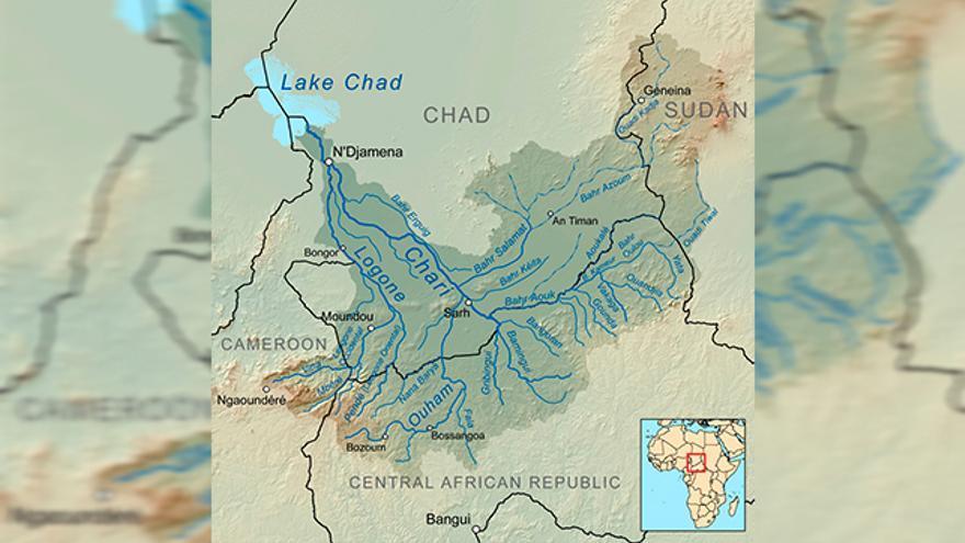 Cuenca de los los ríos Chari y Logone.