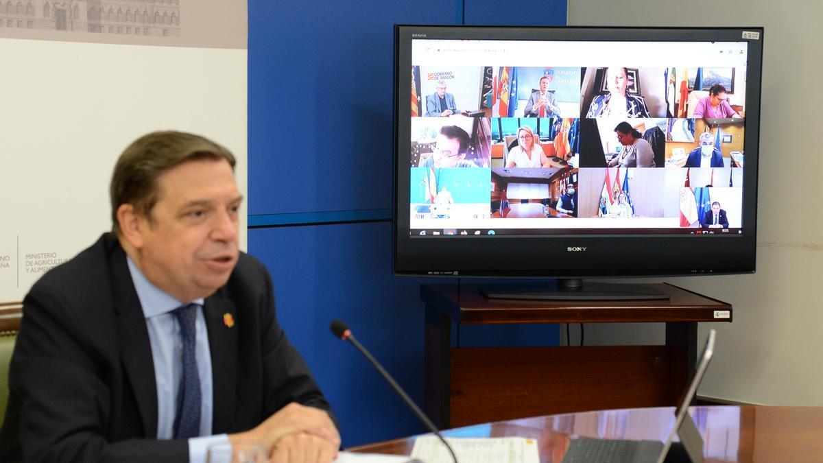 El ministro, en la Conferencia con los consejeros de las Comunidades Autónomas