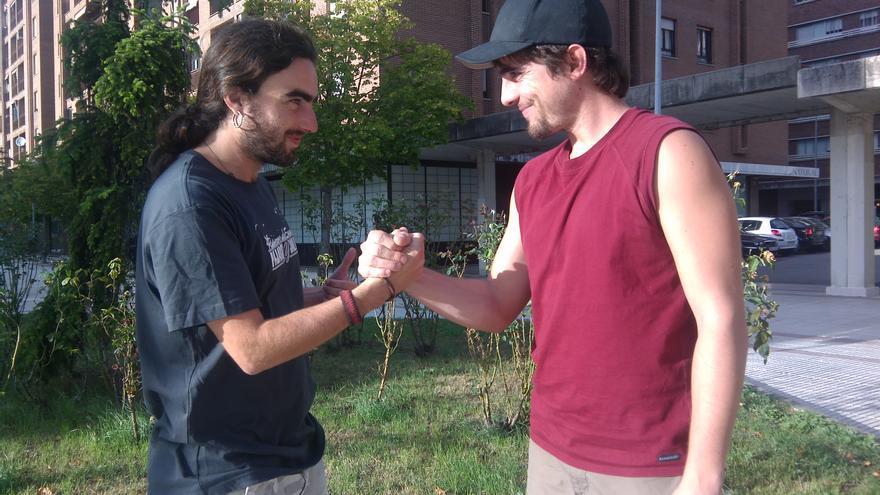 Moisés Berdonces ('Moisés no duerme') y Xabier Ayerra, creadores de 'Dreamakers'.