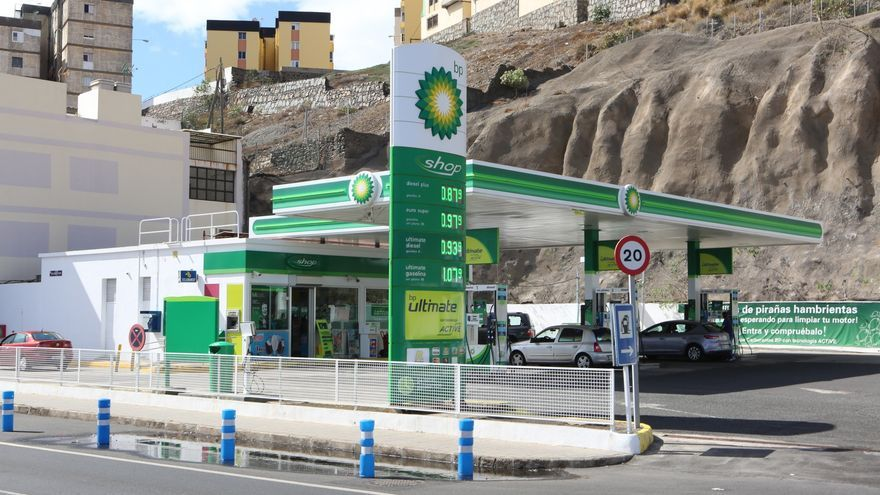 Gasolinera BP en Las Palmas de Gran Canaria