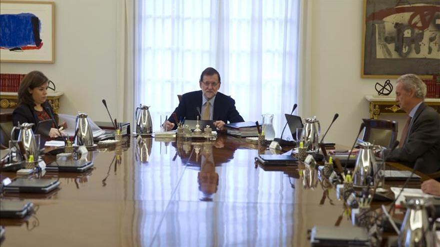 """Rajoy celebra los """"4 años de cambio"""" propiciados por el Gobierno del PP"""
