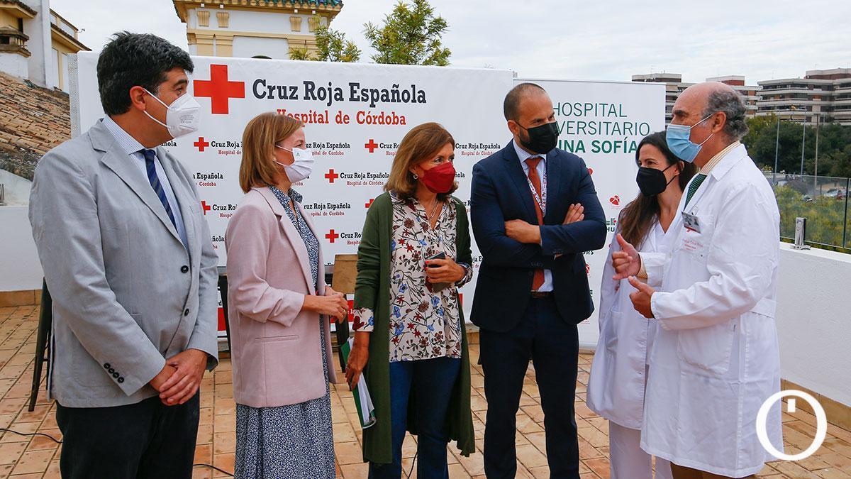 Presentación de la primera donación de órganos registrada en el Hospital Cruz Roja de Córdoba