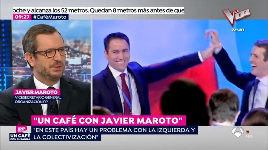 Javier Maroto, en Antena 3