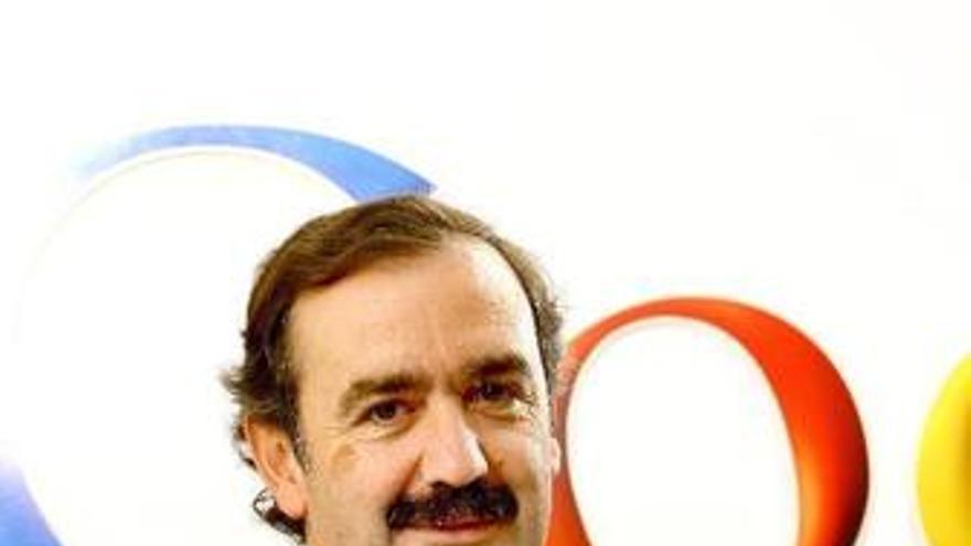 Responsable de Google eBooks en España, Luis Collado