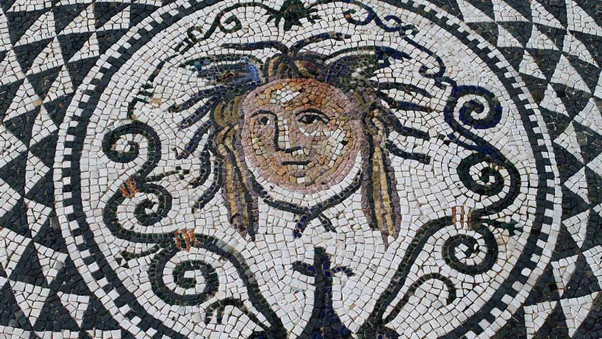 Mosaico romano de Carmona. / Juan Miguel Baquero