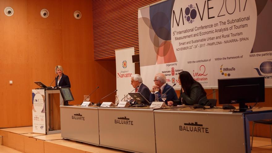 Navarra presenta en la Conferencia MOVE2017 sus experiencias en medición de datos en el sector turístico