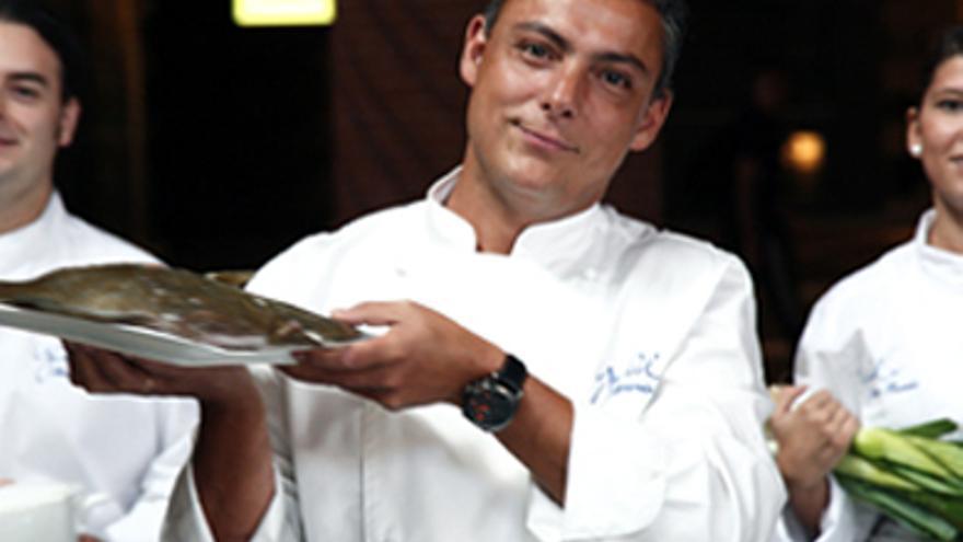 El chef Ricardo Pérez. Foto: bilbaoturismo.net