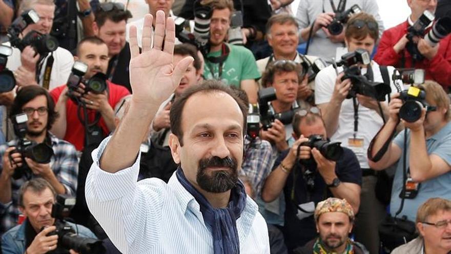 El director iraní, Asghar Farhadi, durante la última edición del Festival de cine de Cannes