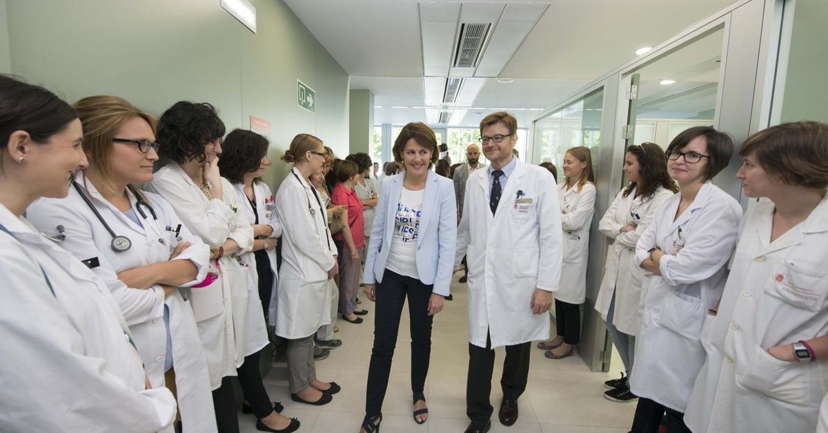Mapa Pabellones Hospital De Navarra.Las Nuevas Instalaciones Del Hospital De Dia De Oncologia Permitiran Atender A Un 25 Mas De Pacientes Cada Dia