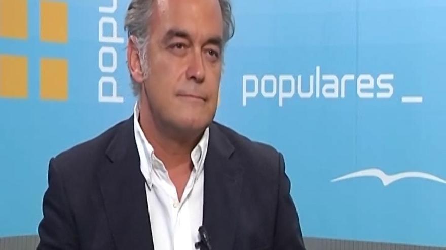 """González Pons, sobre los sobresueldos: """"Actualmente no hay corrupción; la que estamos conociendo es de otra época"""""""