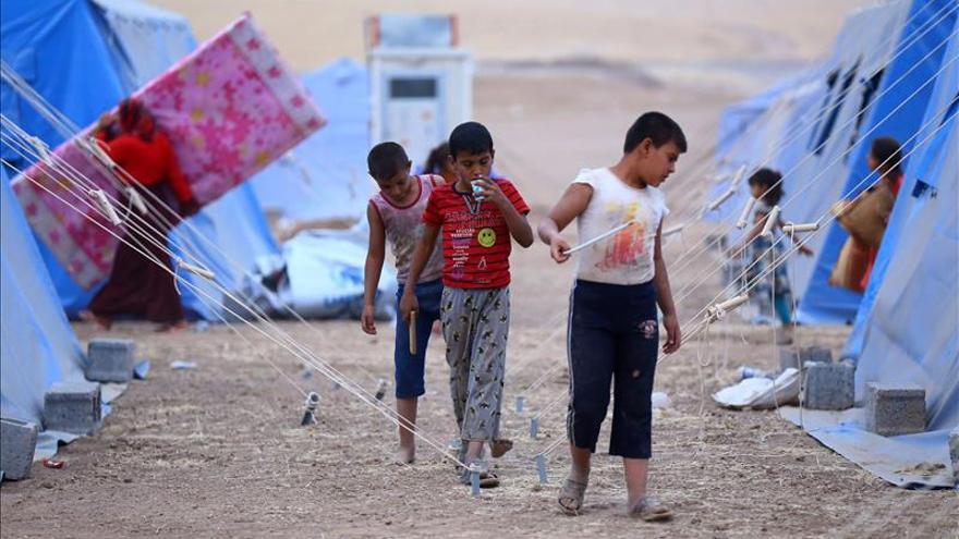 Liberados 51 niños y mujeres kurdos yazidíes retenidos por los yihadistas en Irak
